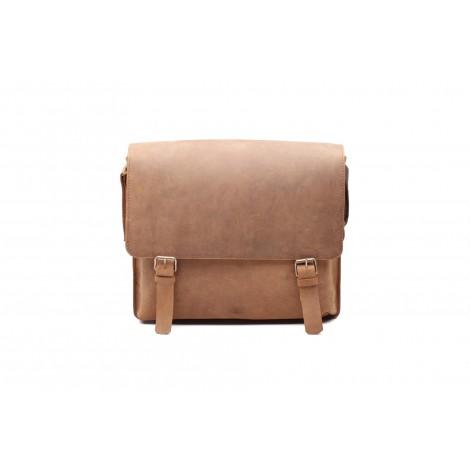 Eredeti új bölény bőr táska, Oldaltáska, Válltáska