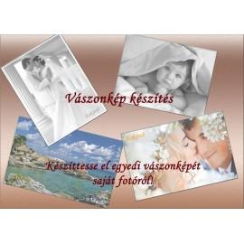 Nyomtatás saját fotóról, vászon, nyomtatás, kép, fotó, fénykép, emlék, ajándék, lakásdekoráció, 40x50 cm