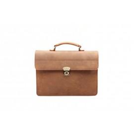 Eredeti új bölény bőr táska, Aktatáska