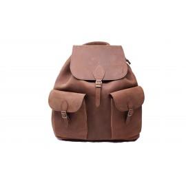 Eredeti új bölény bőr táska, Hátizsák, Hátitáska