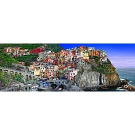 Óriáskép, Extra kép,Tengerparti város, Olaszország,90x252