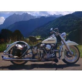 Óriáskép, Extra kép, Motorozás a hegyekben 100x138