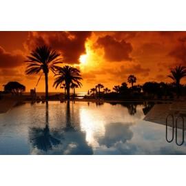Óriáskép, Extra kép, Naplemenete a tengerparton 100x150