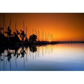 Óriáskép, Extra kép, Balatoni naplemenete 100x144