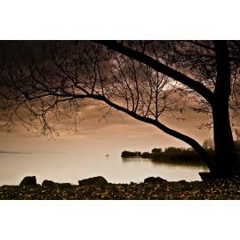 Óriáskép, Extra kép, Balaton szürkületben 100x150