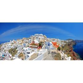 Óriáskép, Extra kép, Santorini, Görögország 100x219