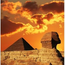 Óriáskép, Extra kép, Szfinx naplementében 100x98