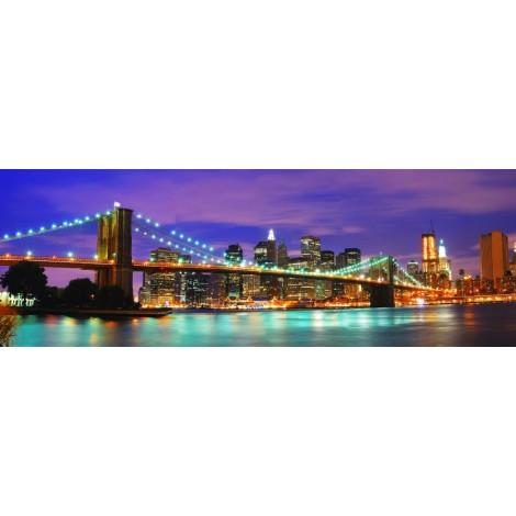 Óriáskép, Extra kép, Kivilágított híd 85x248