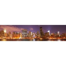 Óriáskép, Extra kép, Kivilágított város 60x244