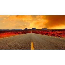 Óriáskép, Extra kép, Út a sivatagba 100x188