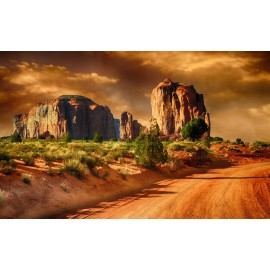Óriáskép, Extra kép, Vad nyugat 100x161