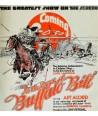23x25cm, Ingyen posta, fakeret, kész kép fakeretben, Buffalo Bill, Moziplakát, Retró